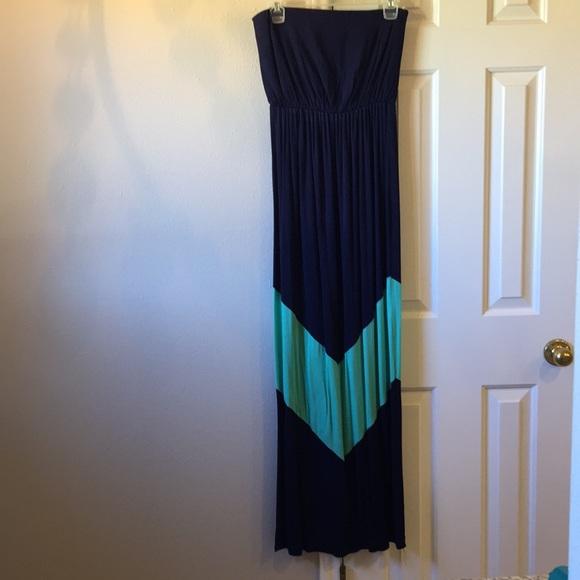 Vanilla Bay Dresses & Skirts - Strapless maxi dress size medium
